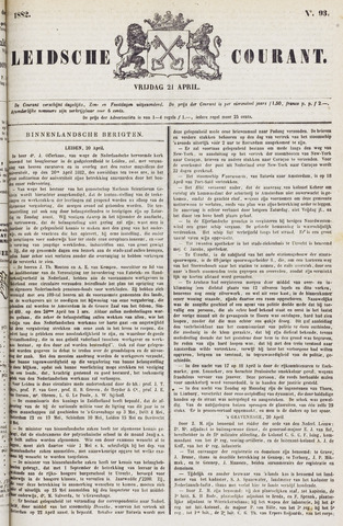Leydse Courant 1882-04-21