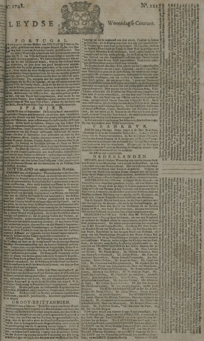 Leydse Courant 1748-10-09