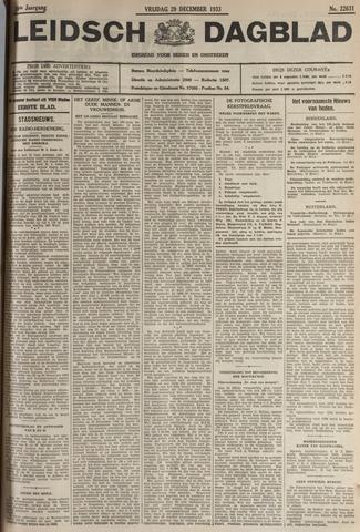 Leidsch Dagblad 1933-12-29