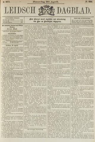 Leidsch Dagblad 1892-04-30