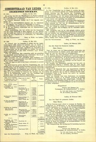 Handelingen van de Raad 1931-05-12