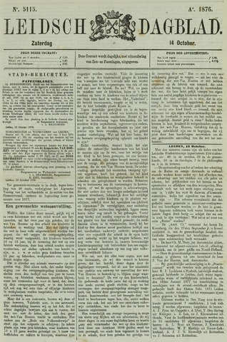 Leidsch Dagblad 1876-10-14