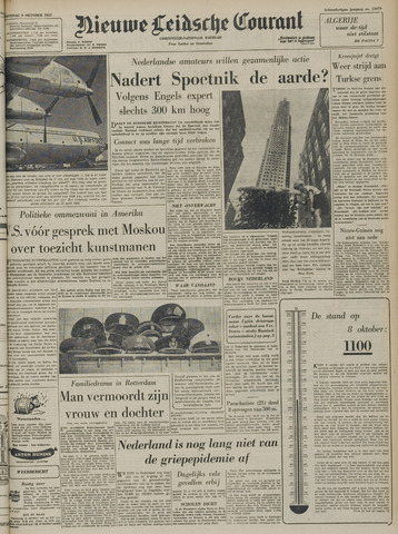 Nieuwe Leidsche Courant 1957-10-09