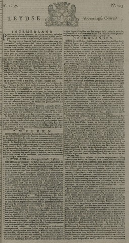 Leydse Courant 1739-10-14