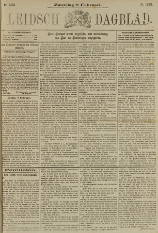 Leidsch Dagblad 1890-02-08
