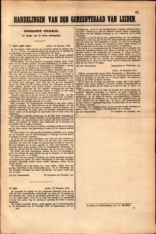 Handelingen van de Raad 1872-12-24