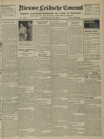 Nieuwe Leidsche Courant 1939-07-19