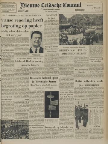 Nieuwe Leidsche Courant 1957-08-08