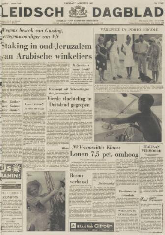 Leidsch Dagblad 1967-08-07