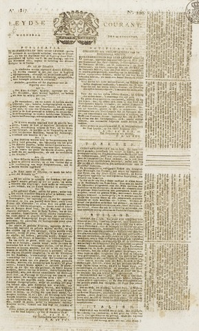 Leydse Courant 1817-08-20