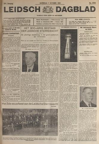 Leidsch Dagblad 1933-10-07