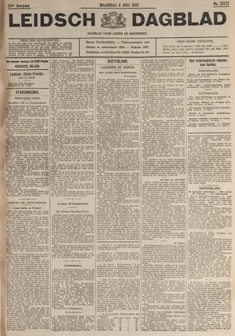 Leidsch Dagblad 1932-07-04