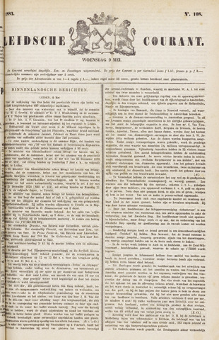 Leydse Courant 1883-05-09