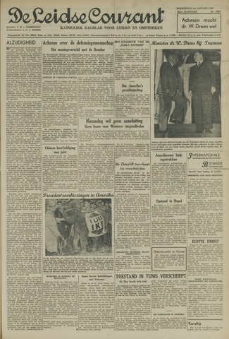 Leidse Courant 1952-01-24
