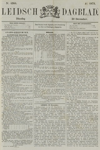 Leidsch Dagblad 1873-12-30