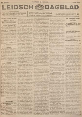 Leidsch Dagblad 1926-02-13