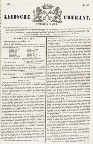 Leydse Courant 1871-04-13