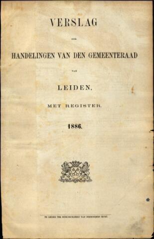 Handelingen van de Raad 1886-01-01