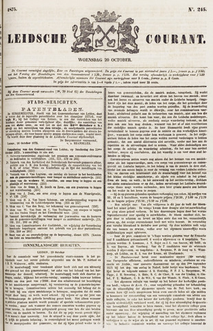 Leydse Courant 1875-10-20