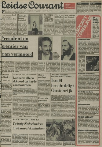 Leidse Courant 1981-08-31