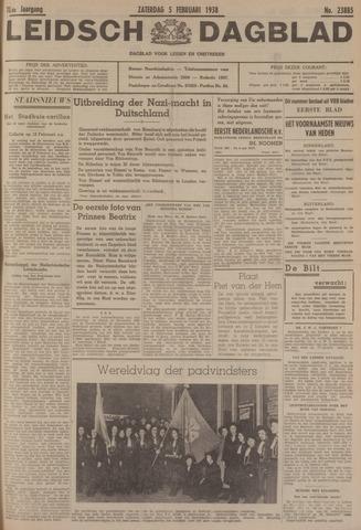 Leidsch Dagblad 1938-02-05