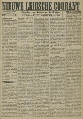 Nieuwe Leidsche Courant 1923-02-22