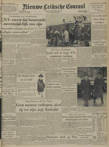 Nieuwe Leidsche Courant 1957-02-26