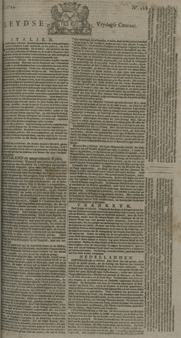 Leydse Courant 1744-10-23