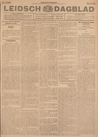 Leidsch Dagblad 1926-03-30
