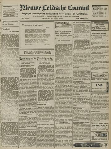 Nieuwe Leidsche Courant 1938-04-16
