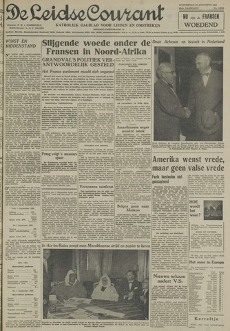Leidse Courant 1955-08-25