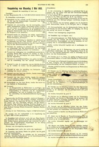 Handelingen van de Raad 1932-05-02