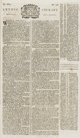 Leydse Courant 1814-08-22