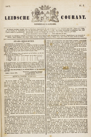 Leydse Courant 1873-01-09
