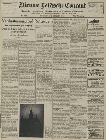 Nieuwe Leidsche Courant 1938-10-13