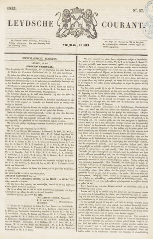 Leydse Courant 1853-05-13