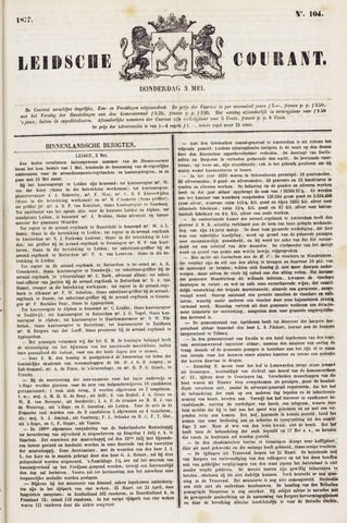Leydse Courant 1877-05-03