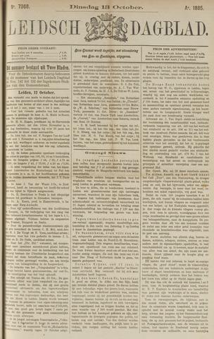 Leidsch Dagblad 1885-10-13