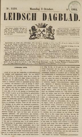 Leidsch Dagblad 1864-10-03