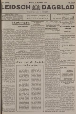 Leidsch Dagblad 1938-11-19
