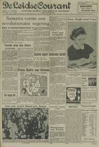 Leidse Courant 1958-02-17