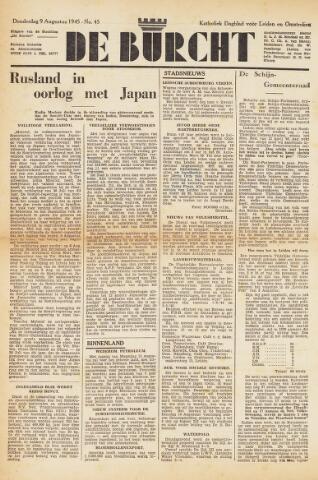 De Burcht 1945-08-09