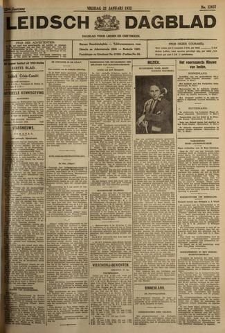 Leidsch Dagblad 1932-01-22