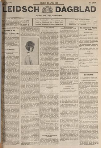 Leidsch Dagblad 1933-04-28