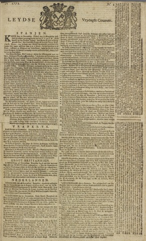 Leydse Courant 1772-01-03