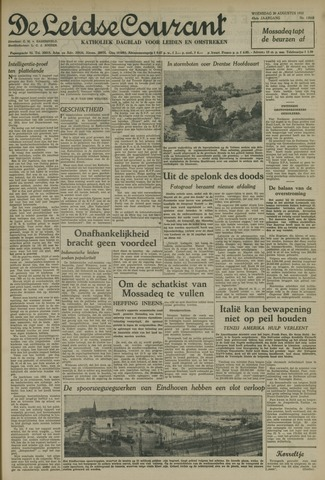 Leidse Courant 1952-08-20
