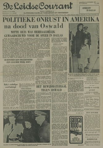 Leidse Courant 1963-11-25