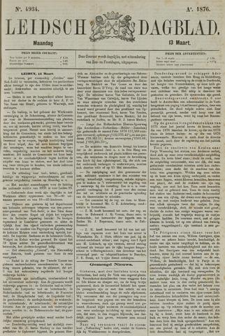 Leidsch Dagblad 1876-03-13