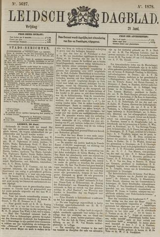 Leidsch Dagblad 1878-06-21