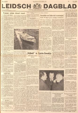 Leidsch Dagblad 1949-10-24